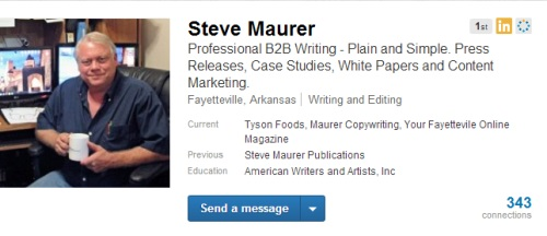 Steve Maurer on LinkedIn